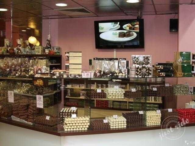obchod s cokoladou
