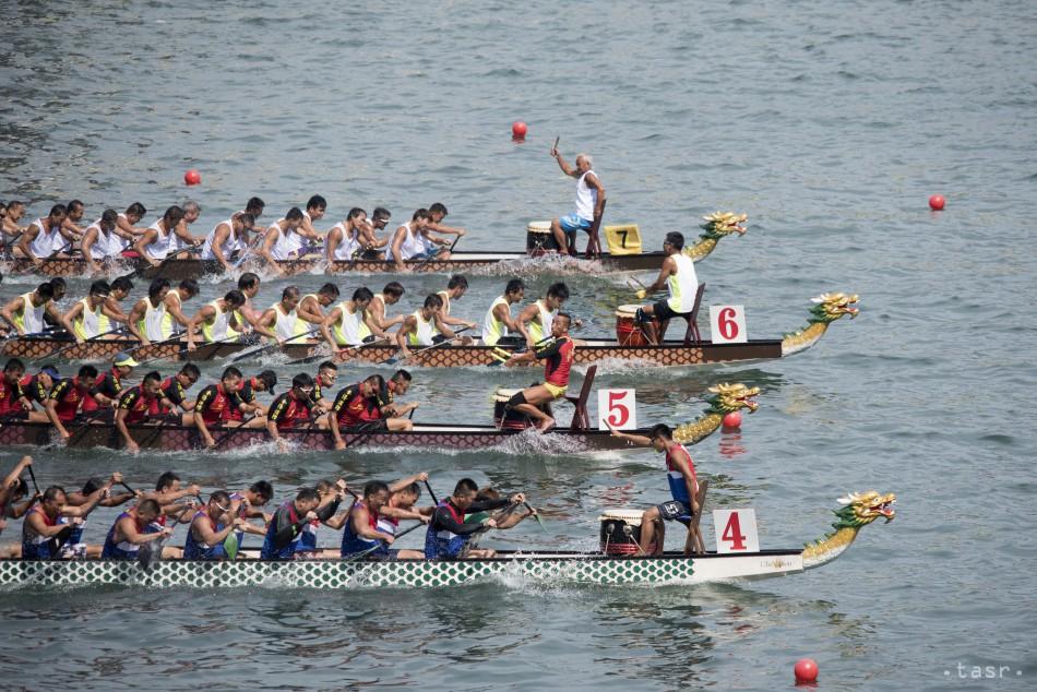 preteky dracich lodi