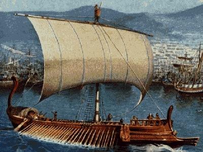 historicka grecka lod