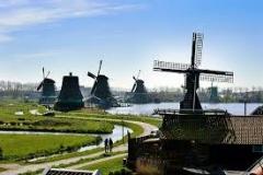 skanzen veternych mlynov zaanse schans