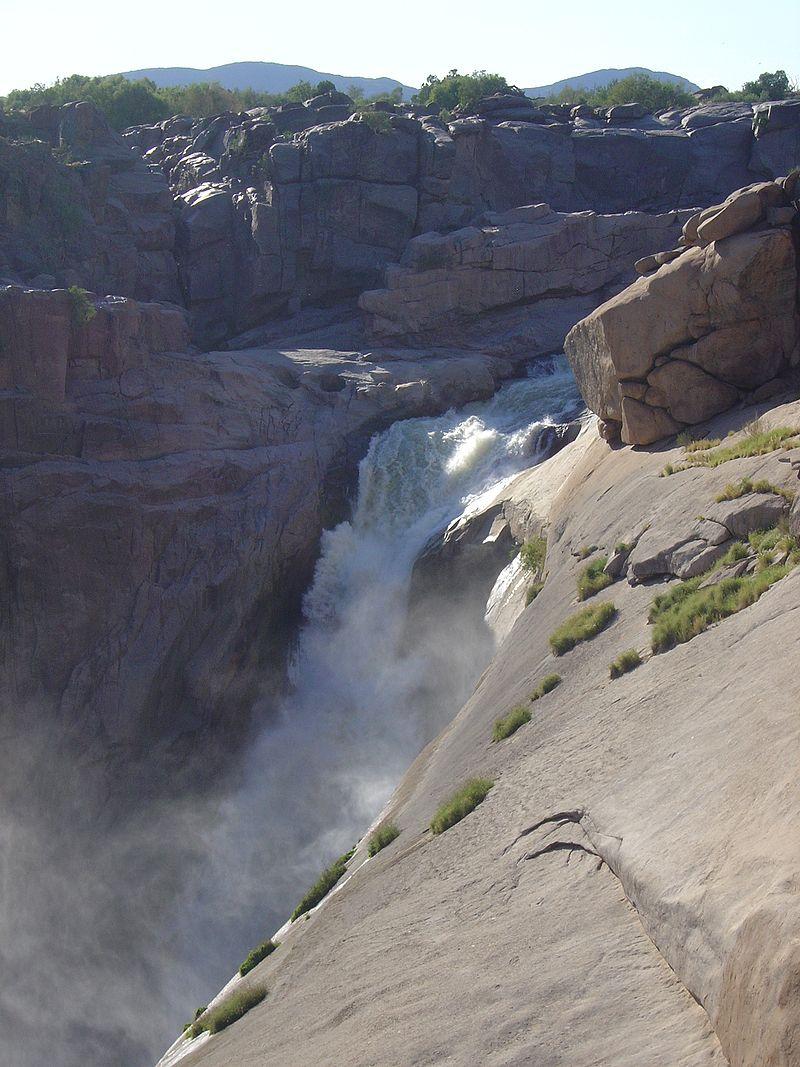 vodopady augrabies