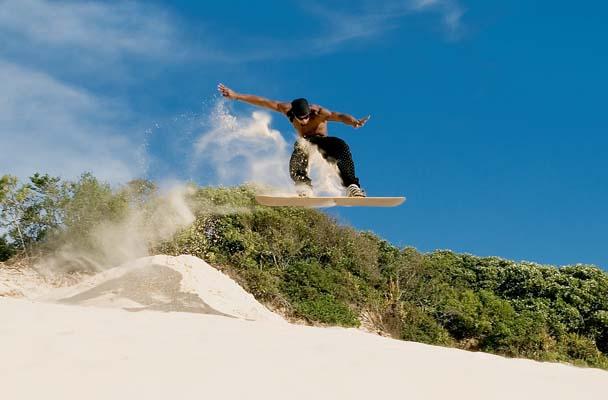 sandboarding