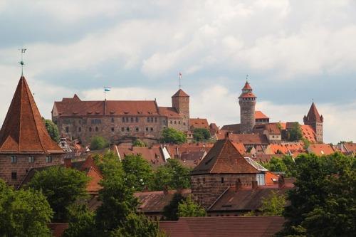 hrad norimberg