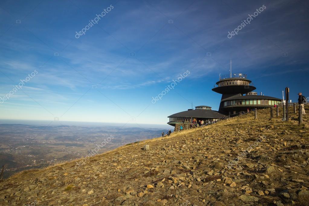 meteorologicke observatorium na Snezke