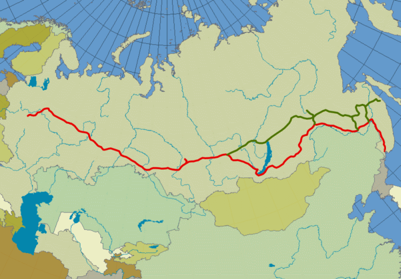 transsibirska magistrala