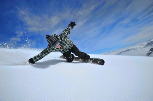 snowboardovanie