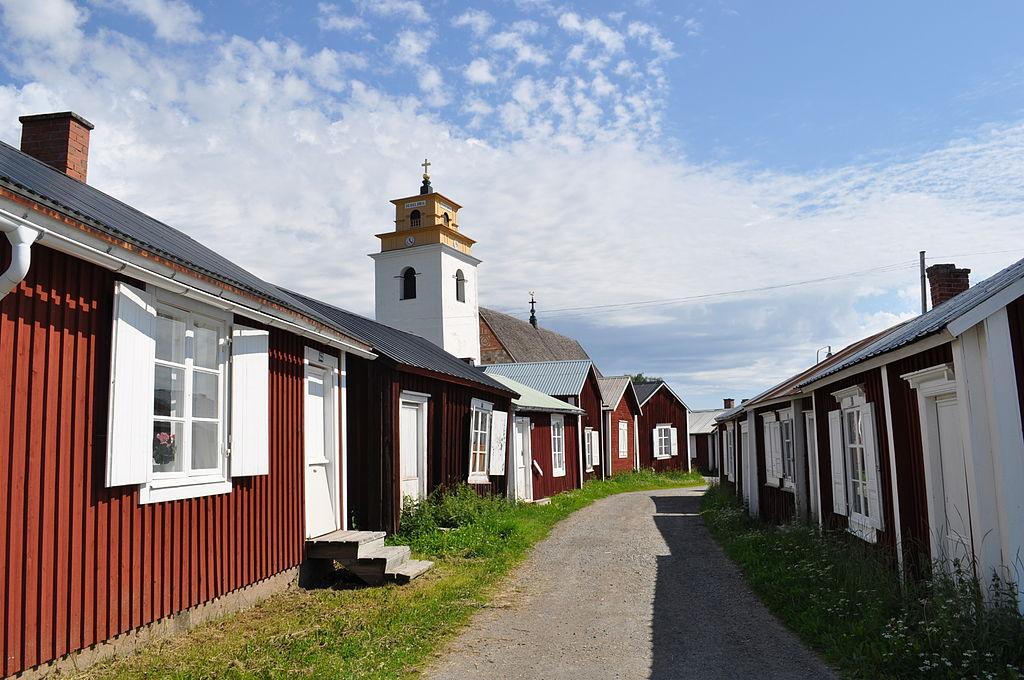 gammelstad kostolne mesto