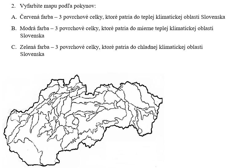 podnebie slovenska