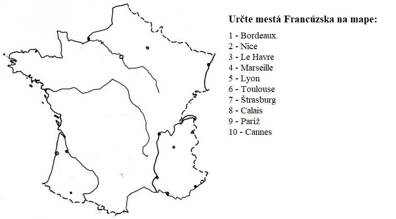 Francúzsko mesta